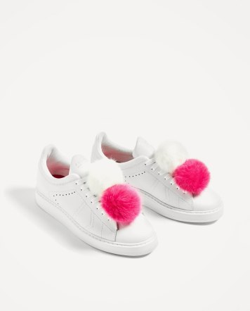 http://www.zara.com/uk/en/woman/shoes/new-in/leather-pompoms-sneakers-c813529p4128551.html
