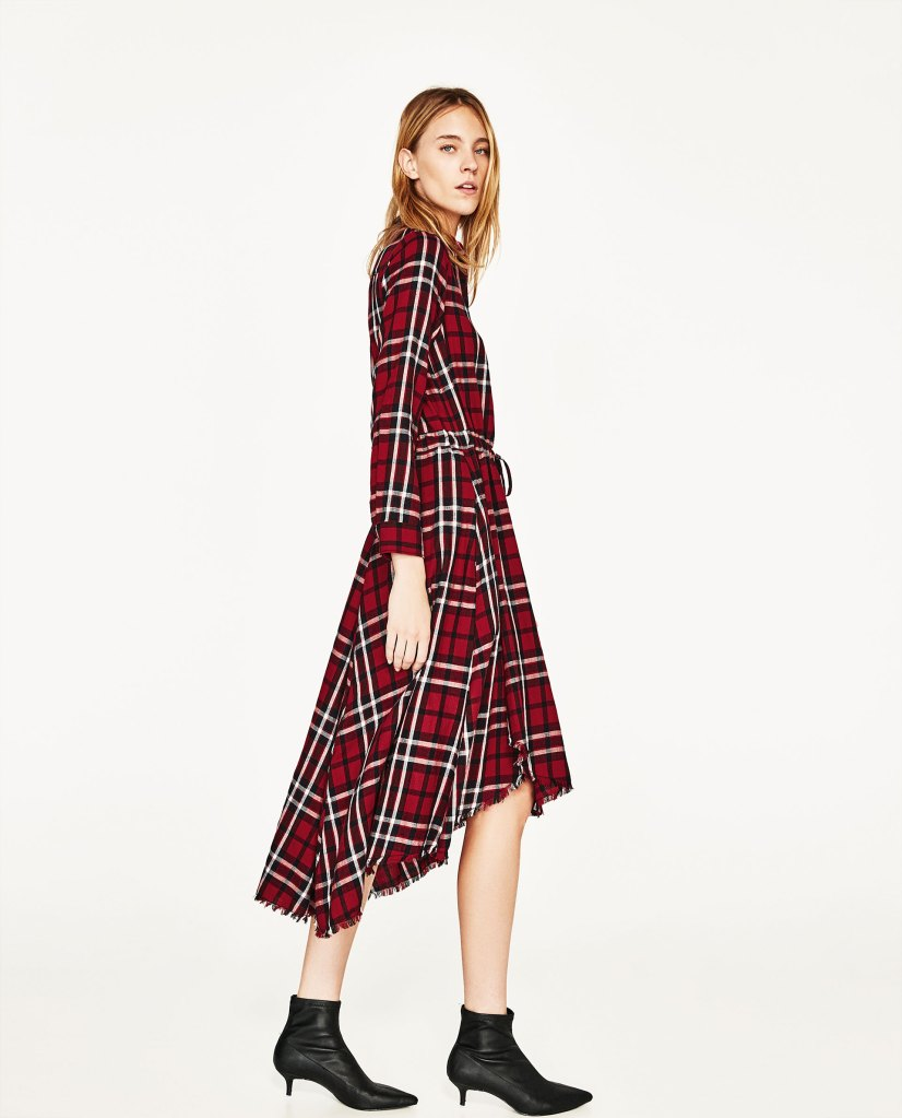 0f1f2bd7 zara-red-check-dress